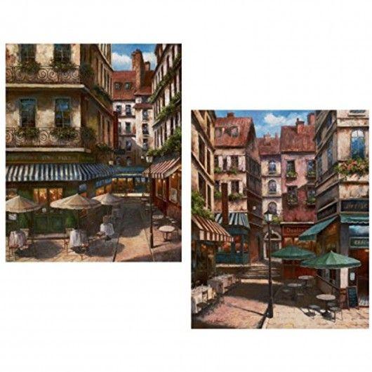2 La Bistro Italian Cafe Posters Coffee Decor 8x10 Wall Art
