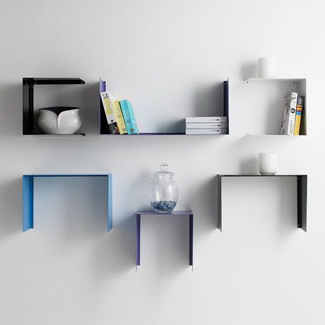 Puristische Regale für moderne Wände | organizowanie | Pinterest ...