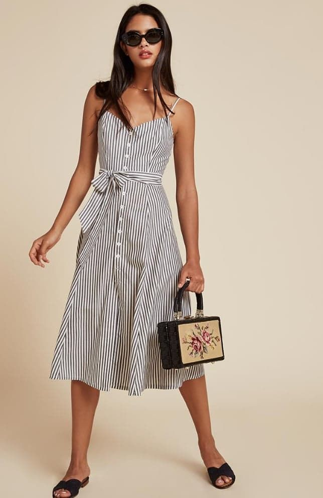 Pin for Later: The 16 Best Things to Shop at Reformation Right Now  Reformation Atlantic Dress ($198)