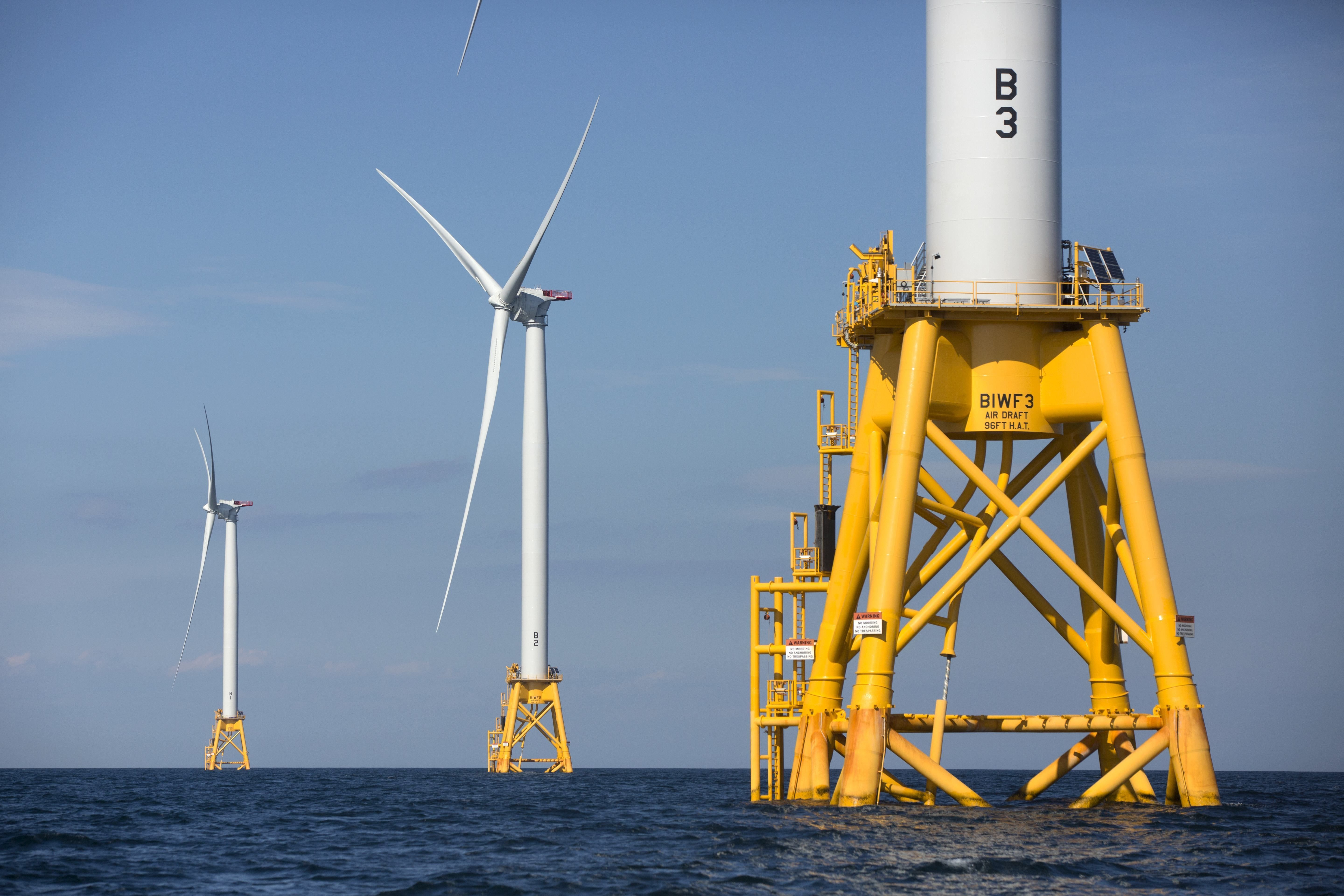 The nation's first offshore wind farm is ready to go, despite critics' blowback