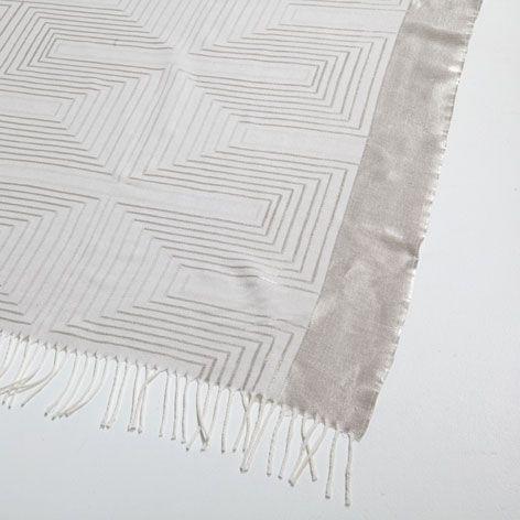 Zara Home Decke decke mit geometrischem muster decken dekoration zara home
