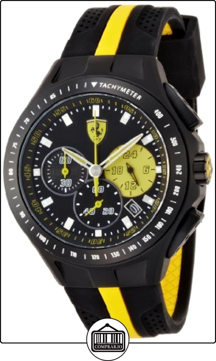 ac29bb7d8cbe Scuderia Ferrari 830025 - Reloj de cuarzo para hombre