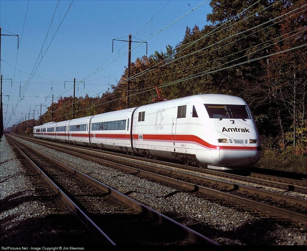 Photo Amtrak ICE Train at Martin