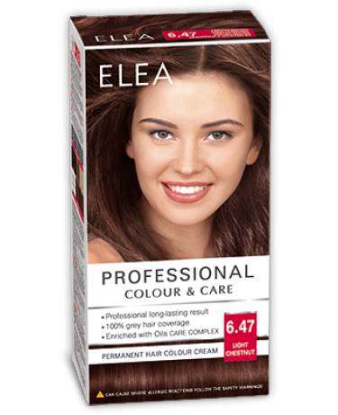 Vopsea De Par Professional Colour Care Elea Vopsea Par Color