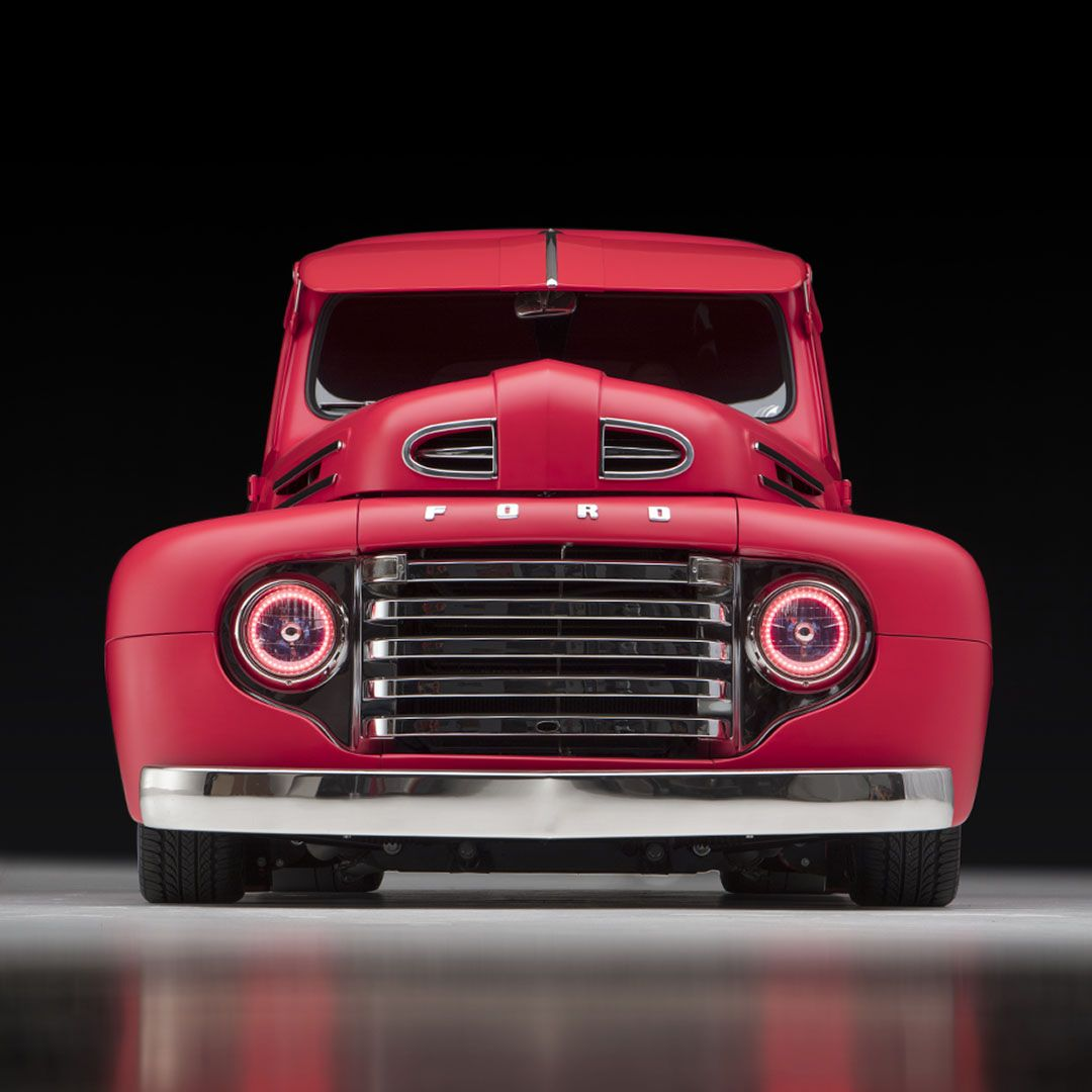 1950 Ford F1 Custom Hot Rod Pickup For Sale Las Vegas Auction Barrett Jackson Auction Company World S Greatest Collector Car Auctions 1948 Ford Truck Ford Pickup Trucks Old Pickup Trucks