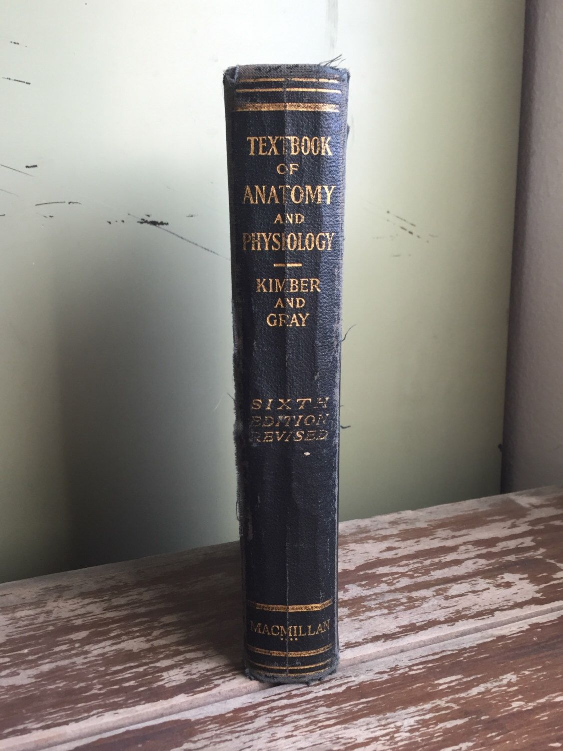 Textbook Of Anatomy And Physiology by Kimber And Gray; Vintage ...