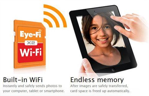 아이파이(Eye-Fi) 와 FLUCARD, 카메라에 wifi 기능을 추가해주는 SD카드 :: 지후대디의 Favorite