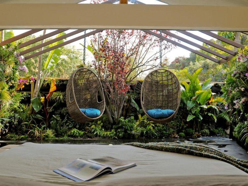 Perfekt Gartenideen Für Lieblingsplätze  Hängesessel Für Den Kleingarten