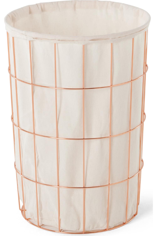Made Copper Laundry Basket Metall Waschekorb Waschekorb Kupfer