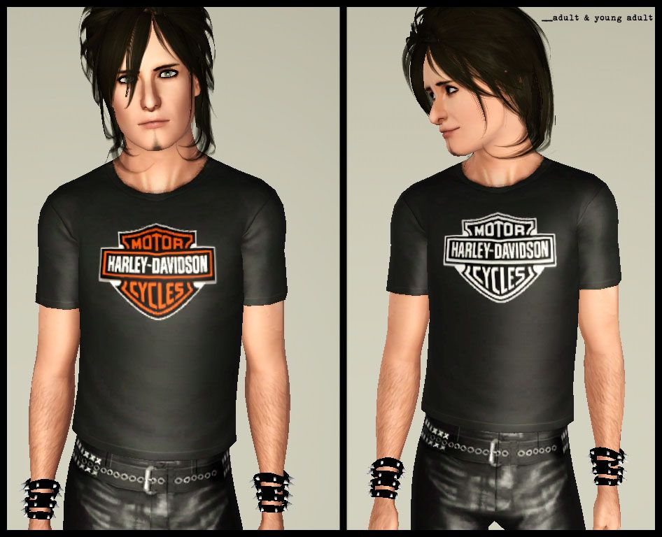 c77248b4d65 Mod The Sims - Harley Davidson shirts for male teens and adults ...