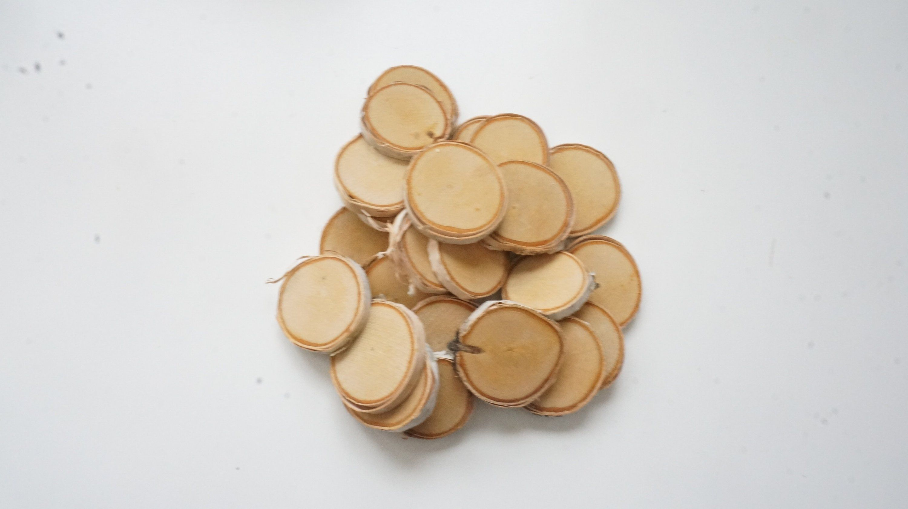 Small Birch Wood Slices 1 3 8 1 7 8 Inch Set Of 25 Ornament Blanks Bulk Mini Tree Slabs Tiny Log Discs Pyrography Supplies Wood Slices What Sells On Etsy Etsy Shop