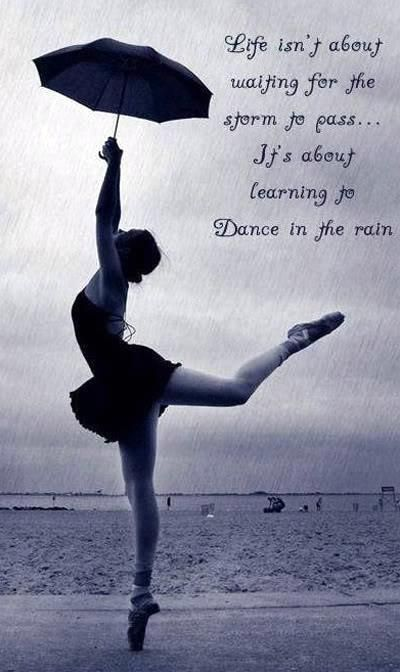 Dancing in the rain... love this picture