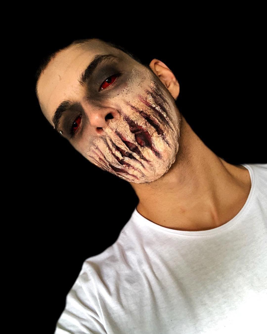 Halloween 2020 Special Effects Makeup halloween #halloween2018 #halloweenmakeup #makeupdesign #arts