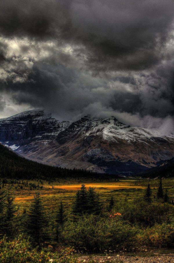 Storm Clouds, Banff, Alberta,Canada