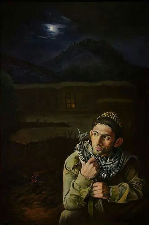 We won't sleep for save Kurdistan ♡♥♡ peshmarga quote ♥