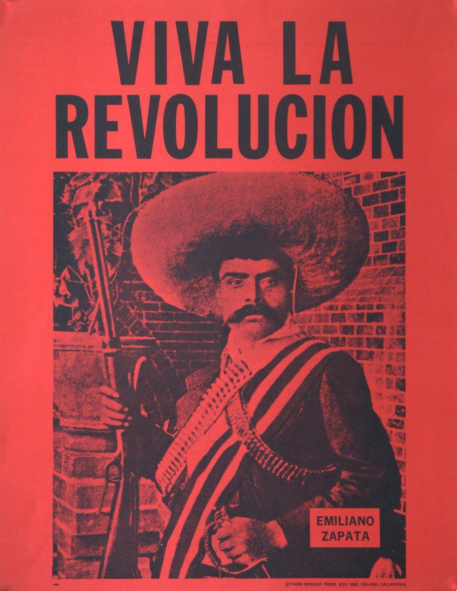 Emiliano 1960's La Zapata Revolucion PosterSocial Viva En Art thQdrs