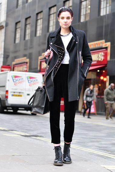 street style london women 39 s look asos fashion finder dr martens pinterest street style. Black Bedroom Furniture Sets. Home Design Ideas