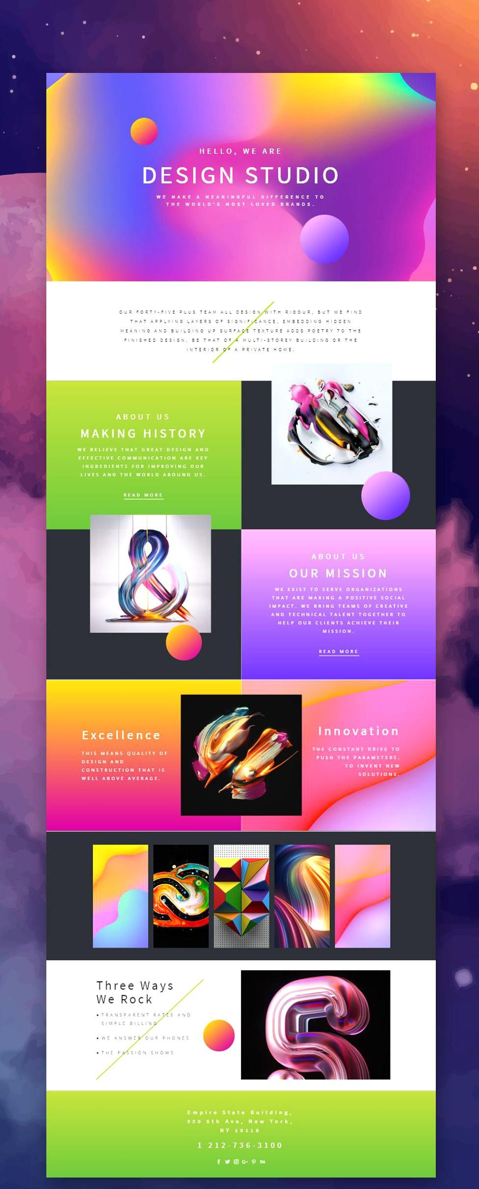 Trendy Design Studio Web Template Click And Start Edit This Web Template Wordpress Theme And Joomla Template Nicepage N In 2020 Web Design Web Design Quotes Design