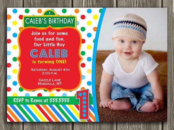 Printable Elmo Or Sesame Street Inspired Birthday Invitation