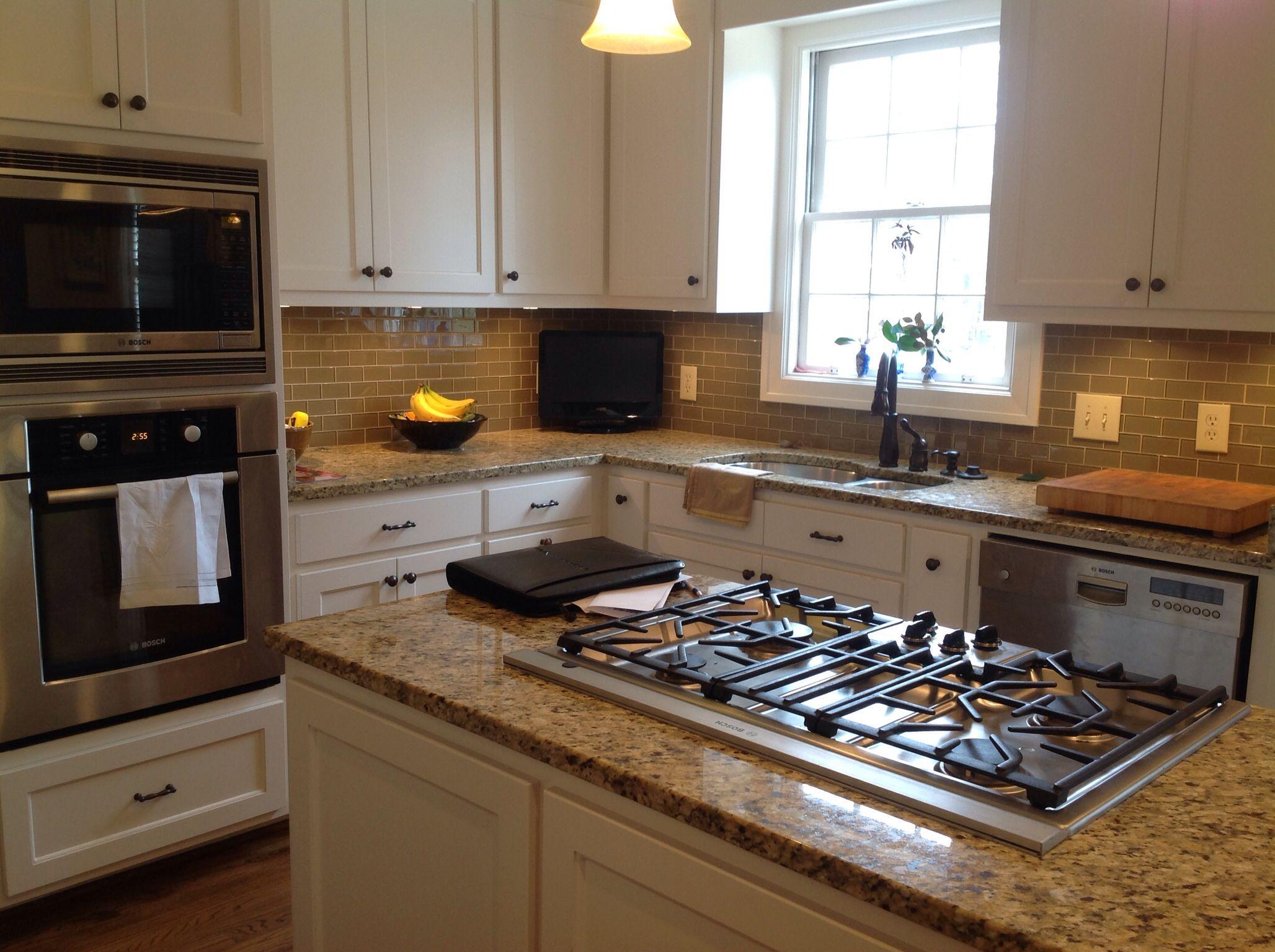 Island & backsplash | Kitchen cabinets