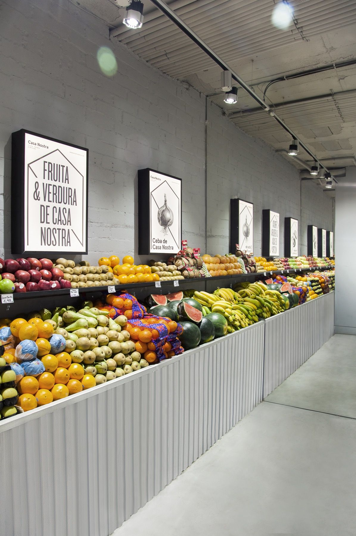Casa Nostra Fruit Shop By Miriam Barrio Studio Barcelona 2016