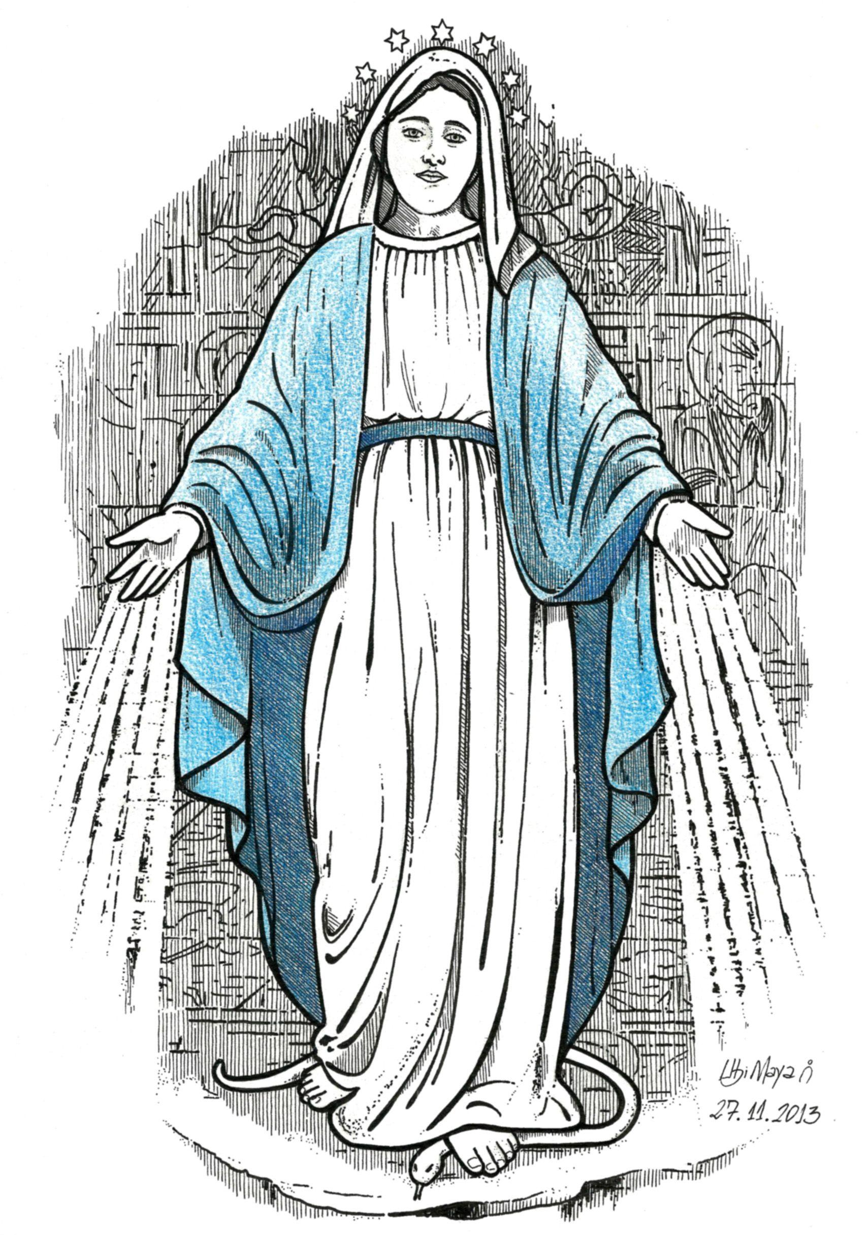 Desenho Encomendado Salvador Ba Nossa Senhora Das Gracas Bico