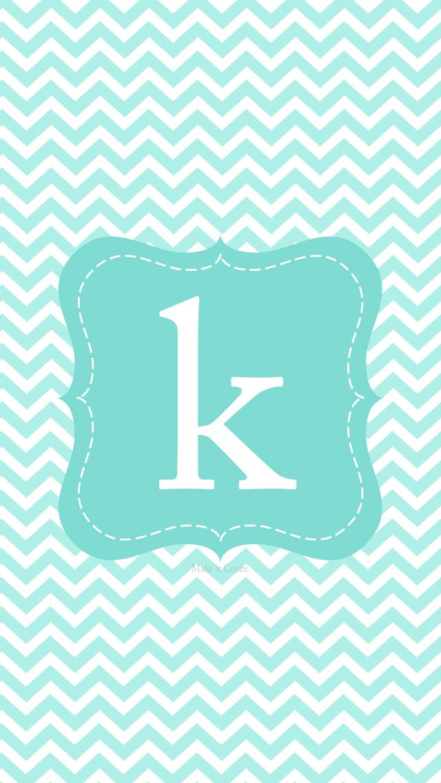 chevron initials wallpaper with o - photo #5