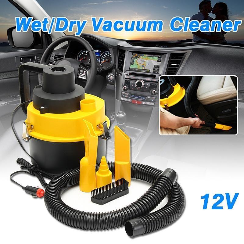 12V 75W Portable Wet/Dry Mini Vac Vacuum High Power