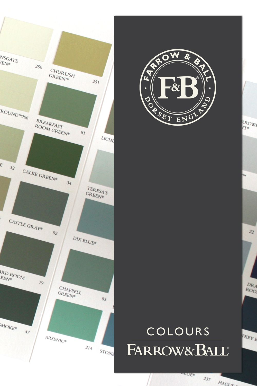 Choose The Colour You Would Like From The Farrow Ball Colour Card 132 Colours Chooseyourownstyle Nuancier Farrow Ball Nuancier Peinture