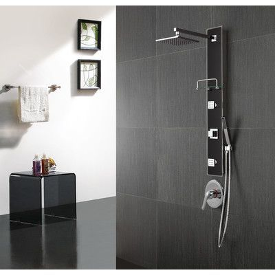 Valore Diverter Shower Panel | Bathroom Shower Panels | Pinterest ...