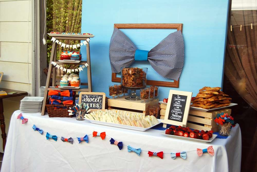 Bowtie Baby Showers On Pinterest Mustache Showers Shower And Bow Tie Theme