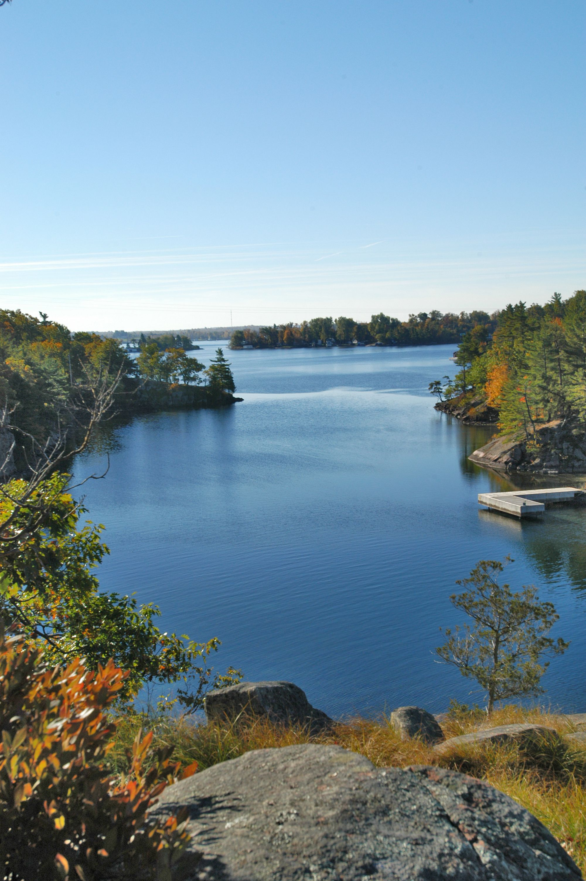 Wellesley island state park has secluded wilderness for Island beach state park fishing