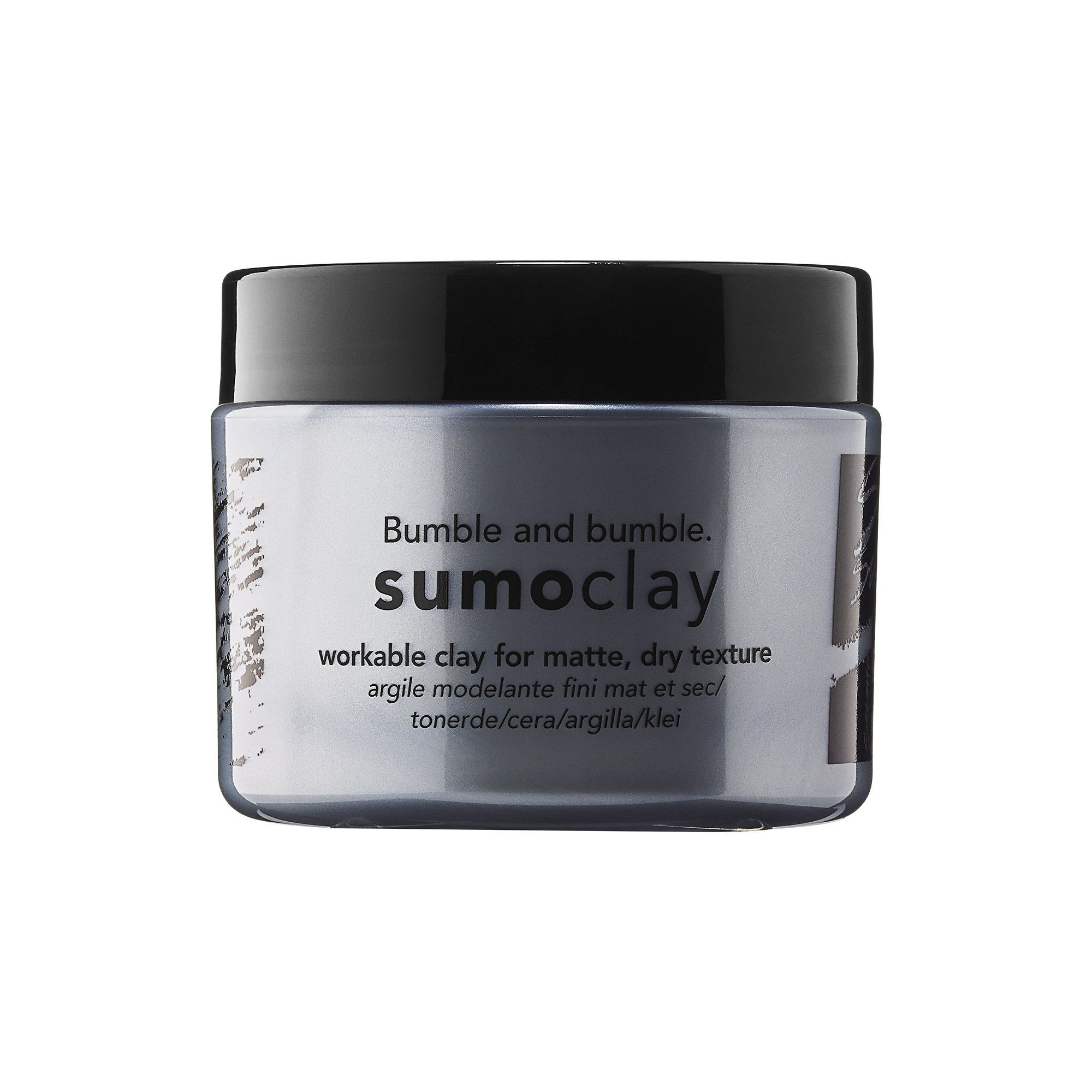 Bumble and bumble Bb sumoclay for texture rub in styled hair with