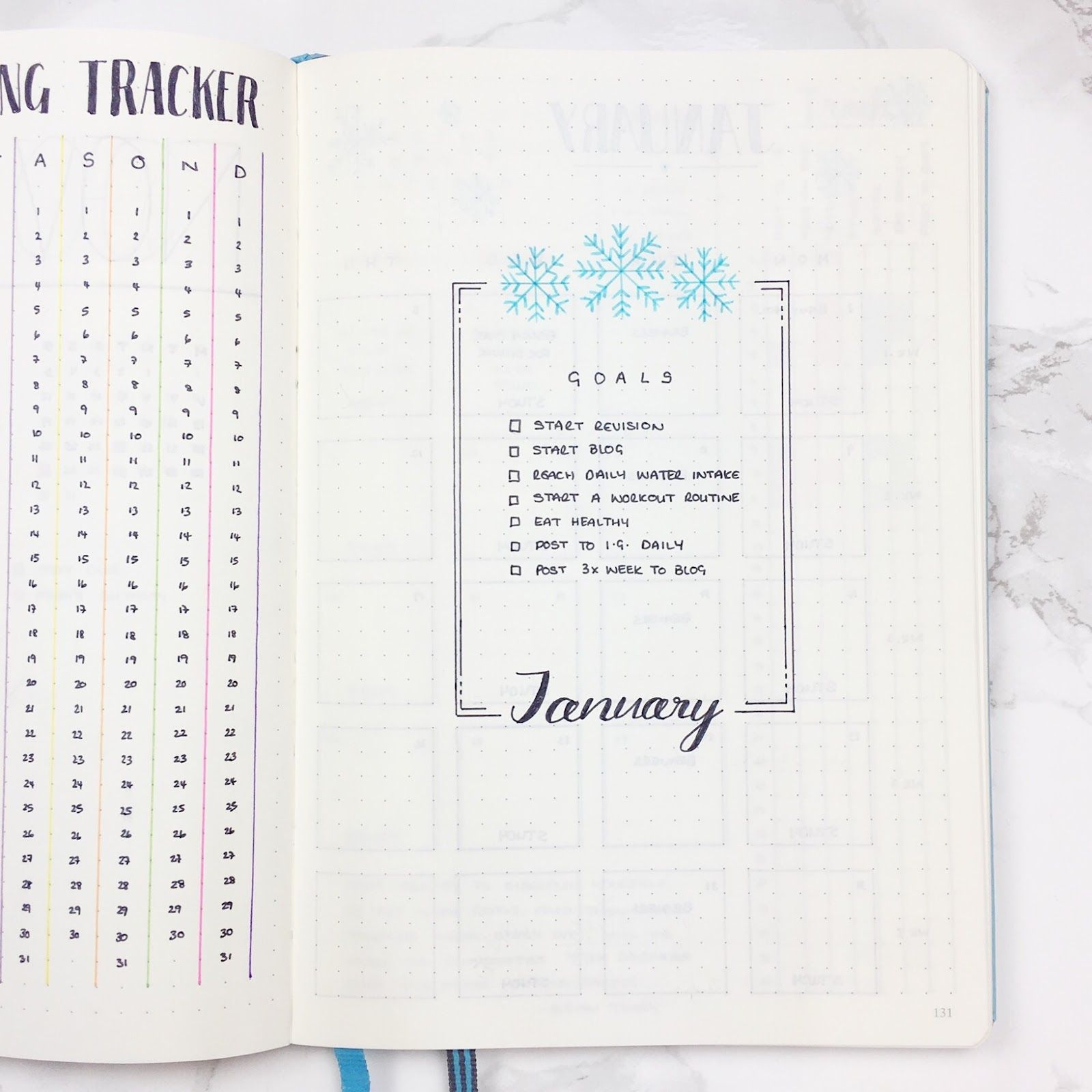 Templates! I love her stuff. Bullet Journal January Header