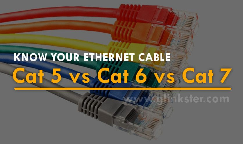 Cat5 Vs Cat5e Vs Cat6 Vs Cat7 The Basic Understanding Of Ethernet Cables Ethernet Cable Gaming Products Learning