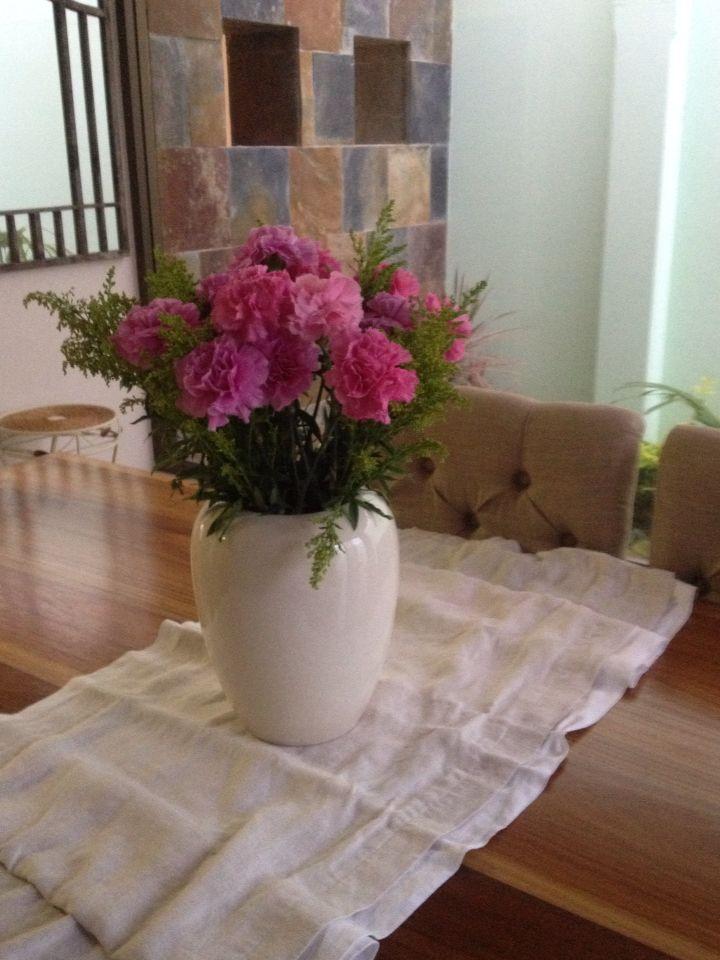 Sweet pink's claveles