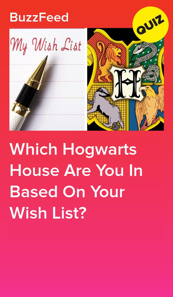 Which Hogwarts House Are You In Based On Your Wish List Hogwarts Sorting Quiz Harry Potter House Quiz Which Hogwarts House