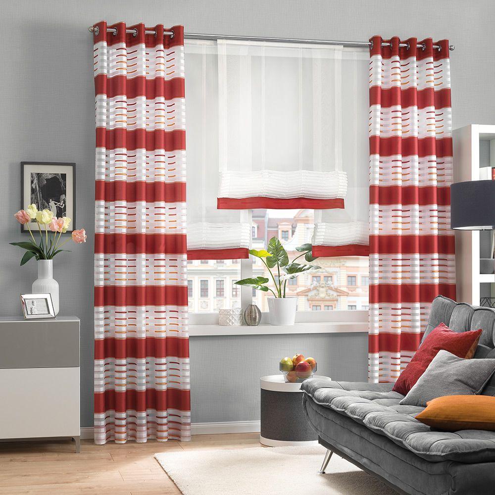 Modern für Ihr Wohnzimmer  Haus deko, Gardinen modern, Dekor