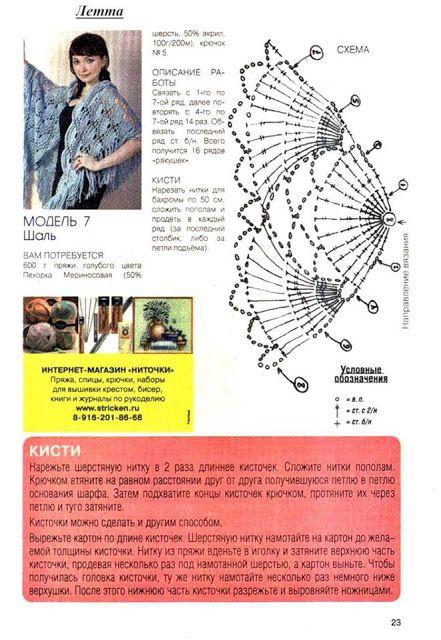 lo spazio di lilla: Schemi per scialli all'uncinetto con anellino d'inizio/ Crochet shawls patterns with magic ring start