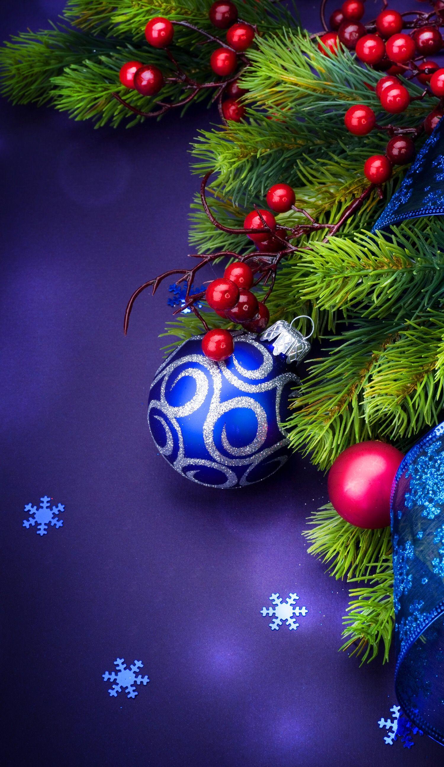 Save and set Christmas wallpaper, Merry christmas