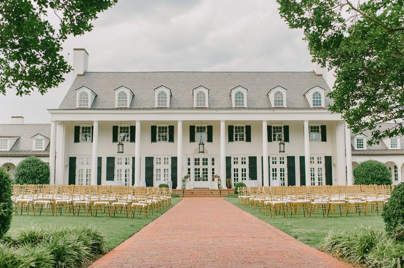 Pine Lakes Country Club in South Carolina, chairs facing