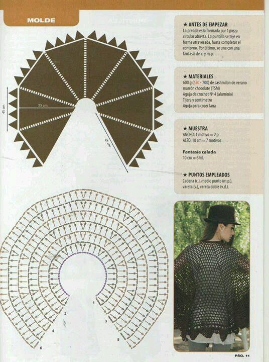 Pin de Yolanda Conejero Sanchez en Bordes De Ganchillo | Pinterest ...