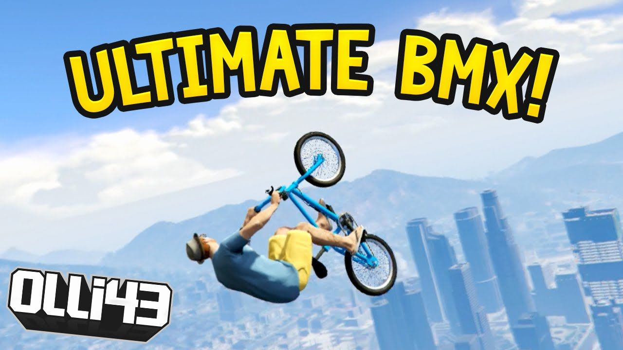 Ultimate Bmx Sky Jump Gta 5 Funny Moments Olli43 Vs Geo23 Gta 5 Funny Funny Moments Gta 5