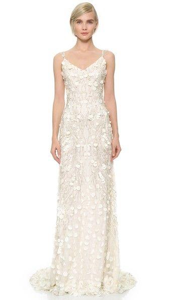 Haz Clic Para Ver Los Detalles Envíos Gratis A Toda España Theia Genevieve Slip Gown This Striking Is Embroidered With