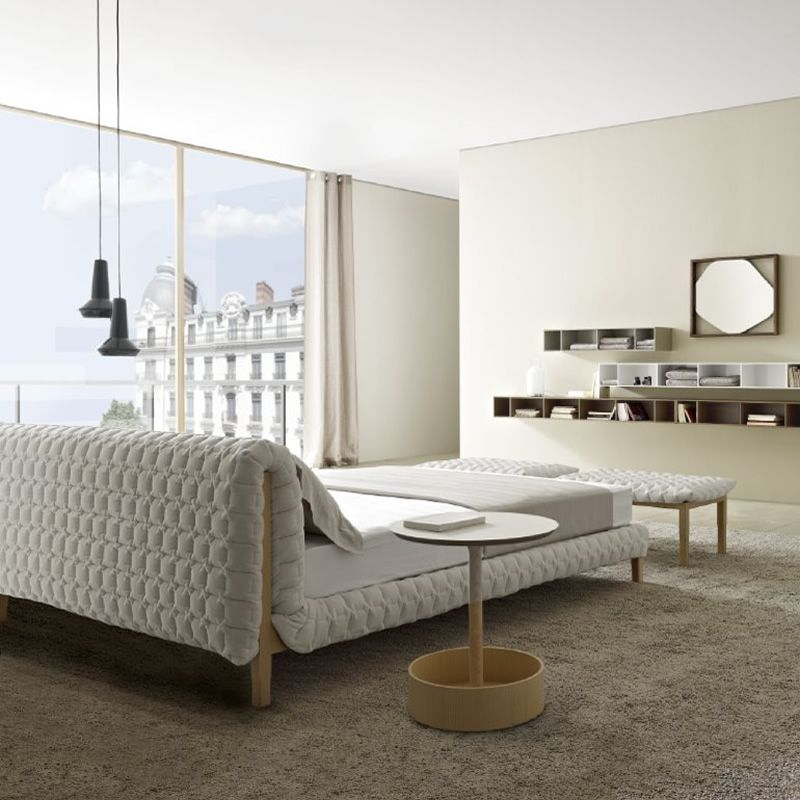 Luxury Master Bedrooms This incredible bed by Lignet Rose is