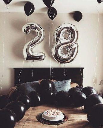 Ideas para decorar la habitación de tu novio en su cumpleaños - decoracion de cumpleaos