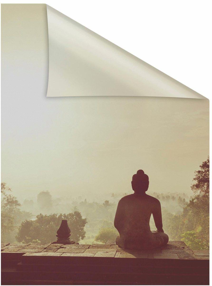 Fensterfolie Tempel Borobudur rot B L 50x50cm Lichtbick Jetzt