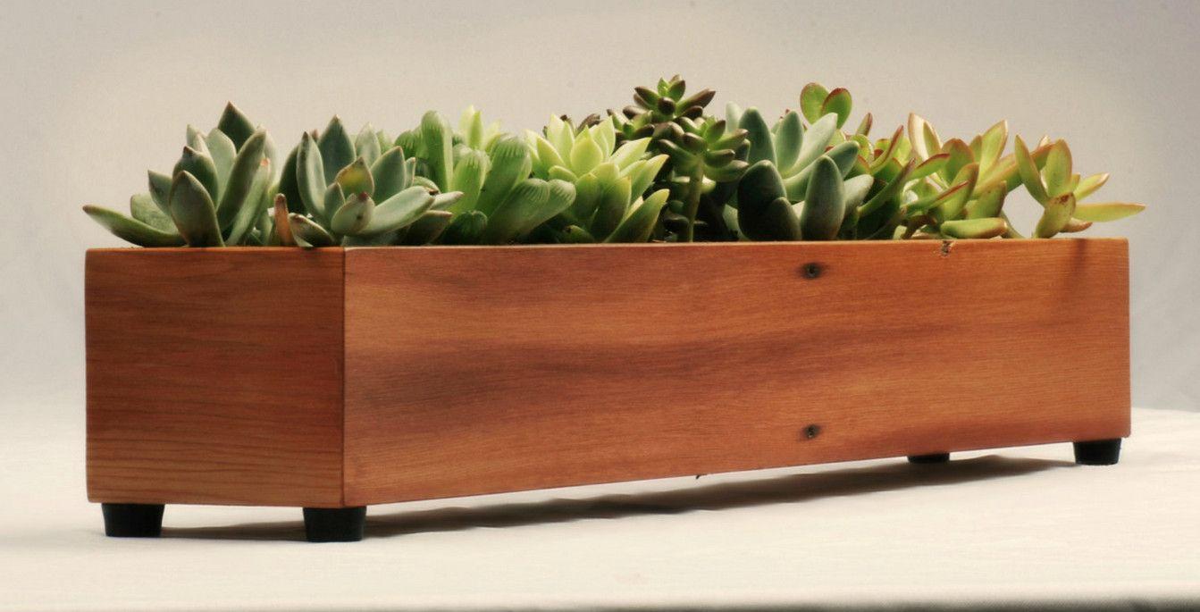 Indoor Window Sill Planter Box Indoor Planter Box Wood 400 x 300