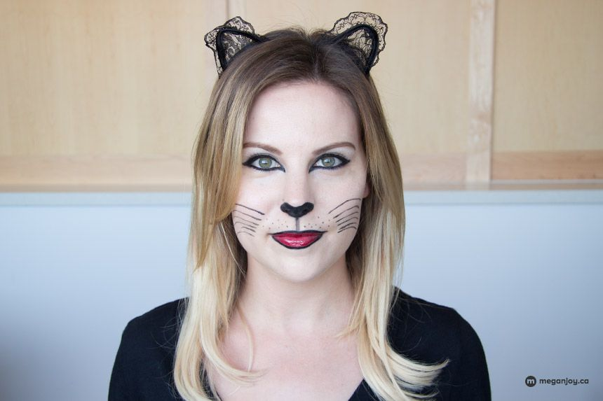 Diy cat costume makeup the world of make up diy cat costume solutioingenieria Gallery
