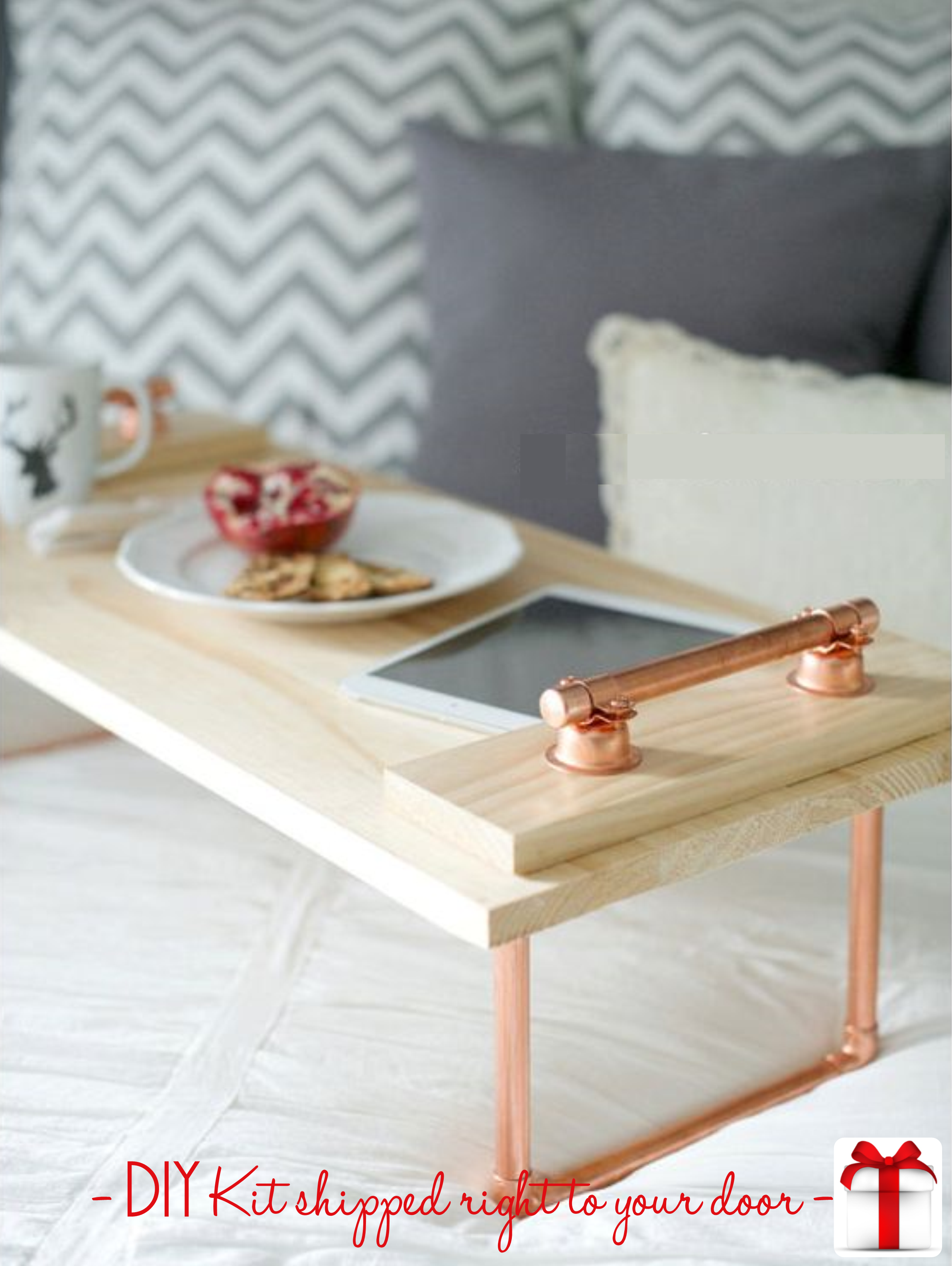 Diy Copper Wood Lap Tray 24 99 Shipping All Materials And